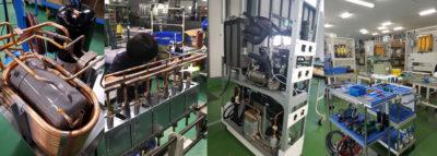 電機機器・温調機器などのOEM量産ラインの保有