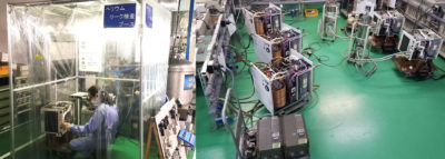 板金加工製品の、リーク検査・通電検査を内製化
