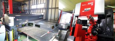 高品質の板金加工・組立工場