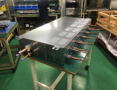 各種空調機器を完成品まで組立